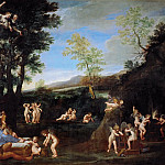 Part 6 Louvre - Francesco Albani (1578-1660) -- The Repose of Venus and Vulcan