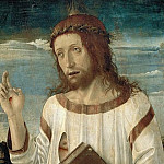 Part 6 Louvre - Giovanni Bellini (c.1433-1516) -- Christ Blessing