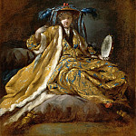 Part 6 Louvre - Jean Barbault; after Joseph-Marie Vien the Elder -- Greek Sultan
