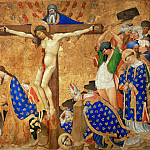 Henri Bellechose -- Communion and Martyrdom of Saint Denis, Part 6 Louvre