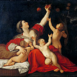 Part 6 Louvre - Francesco Albani -- Fertility (Charity; La Fécondité)