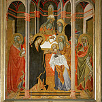 Part 6 Louvre - Bartolo di Fredi (active 1353-1410) -- Presentation of Christ in the Temple