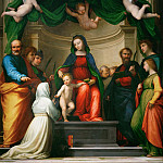Part 6 Louvre - Fra Bartolomeo (1472-1517) -- Mystic Marriage of Saint Catherine of Siena