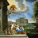 Part 6 Louvre - Francesco Albani (1578-1660) -- Venus at Her Toilet