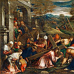 Francesco Bassano II -- Christ Carrying the Cross, Part 6 Louvre