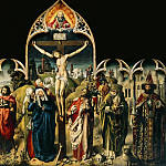 Part 6 Louvre - The Master of the Dreux Budé Triptych (Andrés d'Ypres?) and the Coëtivy Master (Colin d'Amiens), The Crucifixion of the Parlement de Paris, Musée du Louvre, Paris --