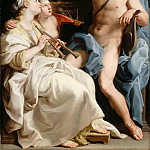 Pompeo Batoni -- Apollo, Music and Meter , Part 6 Louvre