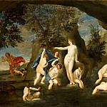 Actaeon Transformed into a Stag by Diana, Francesco Albani