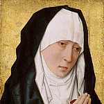 Part 6 Louvre - Studio of Dieric Bouts the Elder -- Mater Dolorosa