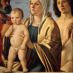 Part 6 Louvre - Giovanni Bellini (c.1433-1516) -- Madonna and Child with Saints Peter and Sebastian
