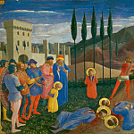 Fra Angelico -- Martyrdom of Saints Cosmas and Damian, Part 6 Louvre
