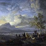 Wouwerman, Philips -- Reigerjacht, 1650 – 1668, Rijksmuseum: part 1