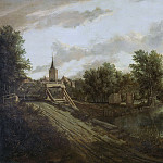 Unknown artist -- Landschap met overtoom, 1660, Rijksmuseum: part 1