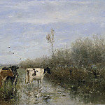 Maris, Willem -- Koeien in een drassig weiland, 1860 – 1900, Rijksmuseum: part 1