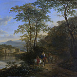 Rijksmuseum: part 1 - Both, Jan -- Italiaans landschap met de Ponte Molle, 1640-1652