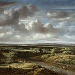 Rijksmuseum: part 1 - Koninck, Philips -- Rivierlandschap, 1676