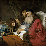 Flinck, Govert -- Isaak zegent Jakob, 1638, Rijksmuseum: part 1