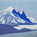 Roerich N.K. (Part 5) - The Himalayas # 150 The snowy top