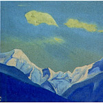 Roerich N.K. (Part 5) - The Himalayas # 107 Clouds over the snowy peak