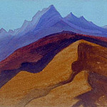 Himalayas # 32 Far vertices, Roerich N.K. (Part 5)