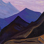 The Himalayas # 11, Roerich N.K. (Part 5)