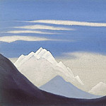 Roerich N.K. (Part 5) - Himalayas # 13 Kanchenjunga from Gangtok
