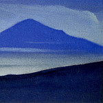 Roerich N.K. (Part 5) - Mists # 62 (mountain top silhouette)
