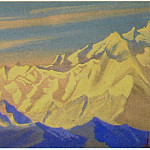 Roerich N.K. (Part 4) - The Himalayas # 49 The Unapproachable Mountain Range