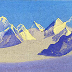 The Himalayas # 35, Roerich N.K. (Part 5)