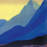 Roerich N.K. (Part 5) - The Himalayas # 33 The color of the slopes