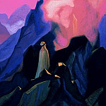 Roerich N.K. (Part 5) - The Prophet # 167 The Prophet (Mohammed on Mount Hira)