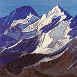 Roerich N.K. (Part 5) - Himalayas # 90 Glittering snow