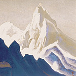 Roerich N.K. (Part 5) - Himalayas # 135 Gray-pink rocks