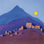 Roerich N.K. (Part 5) - Tibet # 35 Tibet (Full Moon)