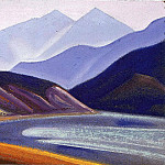 The Himalayas # 107, Roerich N.K. (Part 5)