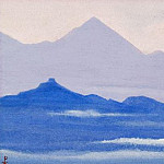 Roerich N.K. (Part 5) - Himalayas # 63 Purple distance