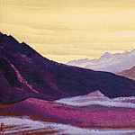Roerich N.K. (Part 5) - The Himalayas # 75 Gloomy dawn