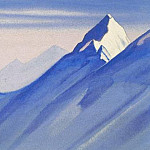 Himalayas # 70 impregnable top, Roerich N.K. (Part 5)