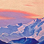 Roerich N.K. (Part 5) - The Himalayas # 154 The Burning Sunset