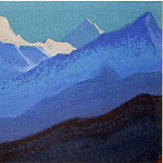 Roerich N.K. (Part 5) - Himalayas # 22 Dawn coloring the tops