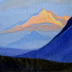 Roerich N.K. (Part 5) - Himalayas # 202 Pink top