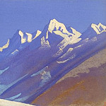 Roerich N.K. (Part 5) - The Himalayas # 36 Before the dawn