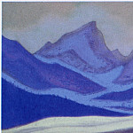 Roerich N.K. (Part 5) - The Himalayas # 117 The Blue Glacier