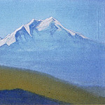 Roerich N.K. (Part 5) - Himalayas # 57 Mountain illuminated morning rays