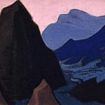 Roerich N.K. (Part 5) - The Himalayas # 203 The Gloomy Rock