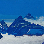 Roerich N.K. (Part 5) - The Himalayas # 213 The Himalayas The blue mountains and glacier