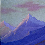 Roerich N.K. (Part 6) - The Himalayas # 138 The dawn in the mountains