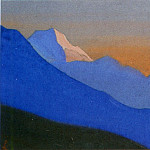 Roerich N.K. (Part 5) - Himalayas # 112 Mountains at the evening dawn
