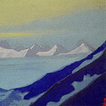 Roerich N.K. (Part 4) - Ladak # 93 Ladak (Gromada mountains and snowy space)