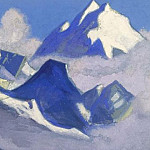Roerich N.K. (Part 5) - Glacier # 15 Glacier (Cloud dreams)